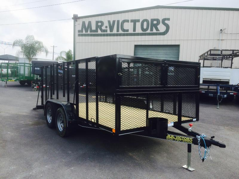2017 Lamar Trailers 83x16 Equipment Trailer