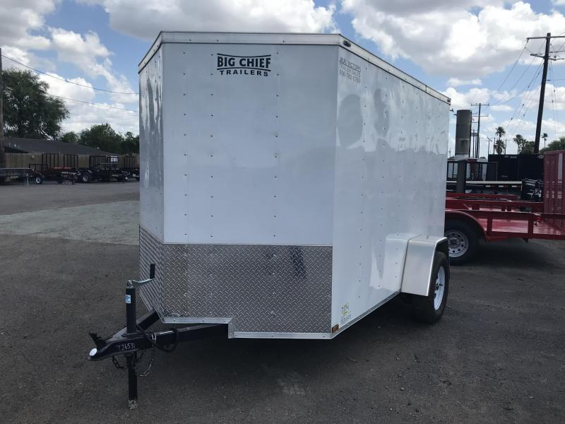 2018 LARK 6 X 10 SA ENCLOSED TRAILER