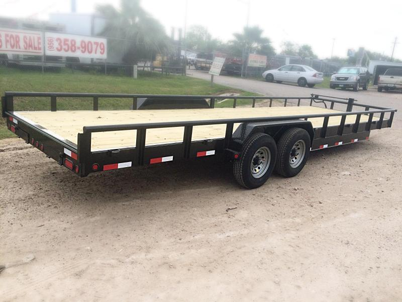 2018 MR VICTORS 83X26 HEAVY DUTY TRAILER