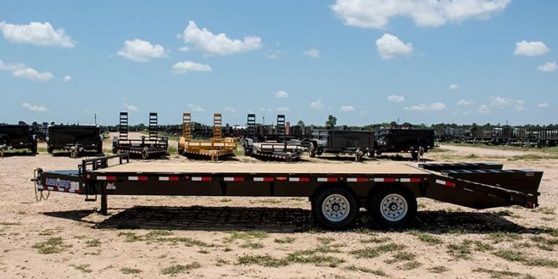 2017 Load Trail 102 X 20 HEAVY DUTY PINTLE HOOK Flatbed Trailer