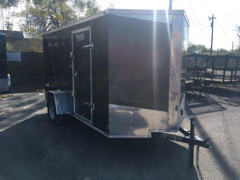 2019 LARK 6X12 2-TONE ENCLOSED CARGO TRAILER