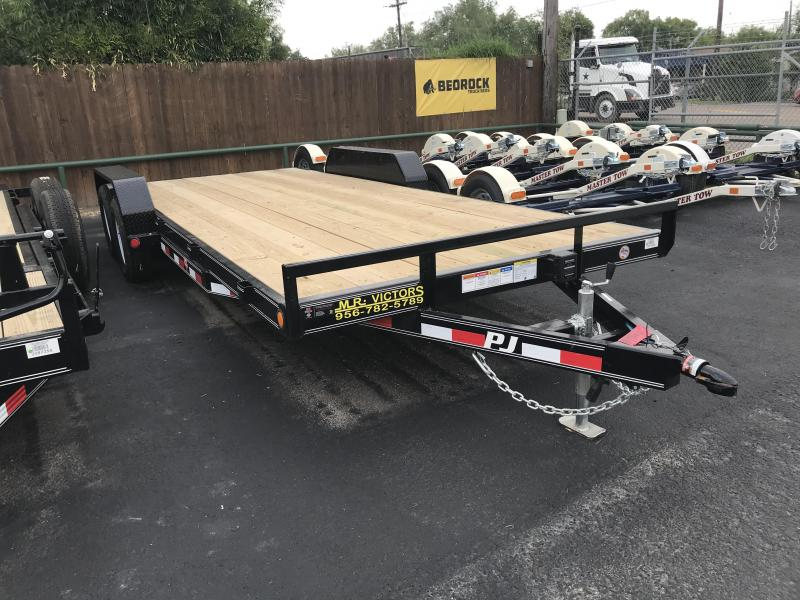 2020 PJ Trailers 83 x 20 Car-Hauler