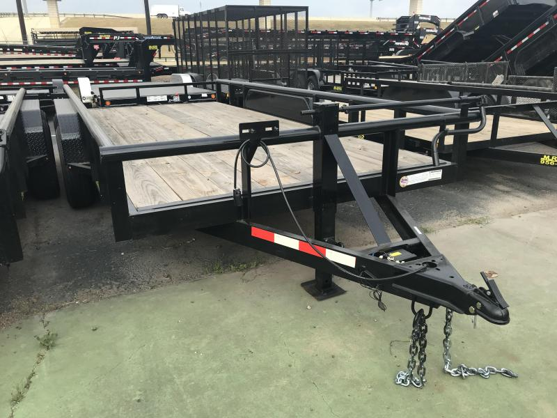2018 MR VICTORS 83X16 HEAVY DUTY TRAILER