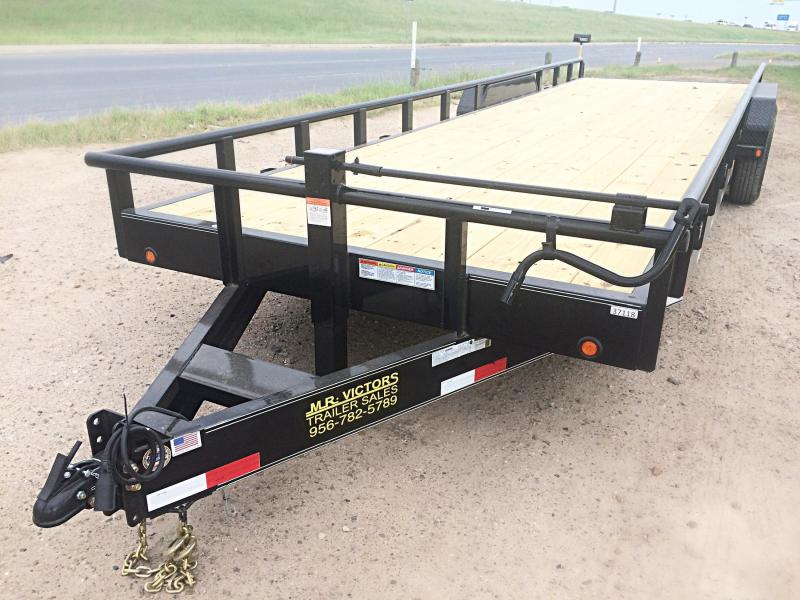 2017 MR VICTORS 83X22 HEAVY DUTY TRAILER