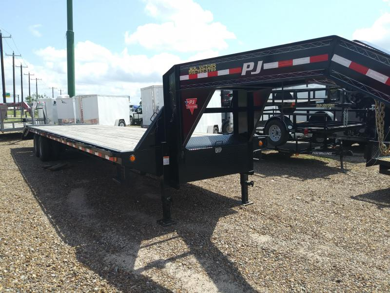 2018 PJ TRAILERS 102 X 35 EQUIPMENT TRAILER