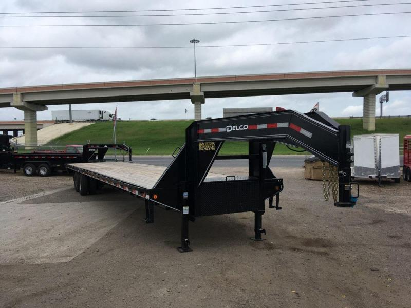 2019 DELCO 102X40 STRAIGHT DECK TRAILER