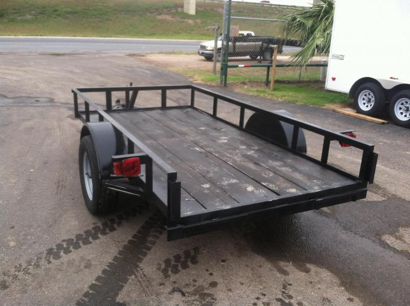 2015 Mr Victors 5x10 Utility Trailer ASh on 5x10 dump trailers