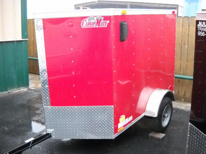 CARGO MATE 4 X 6 ENCLOSED TRAILER