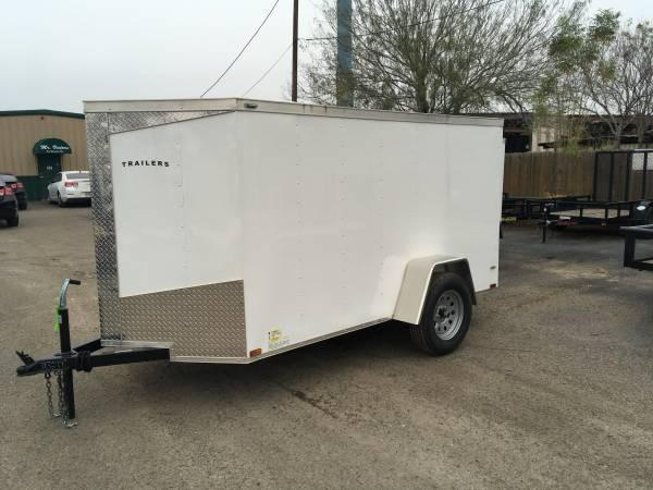 2019 Lark 5X10SA Enclosed Cargo Trailer