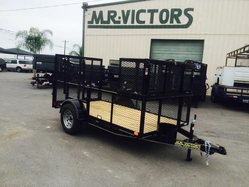 2017 Lamar Trailers 5X10 LANDSCAPE Equipment Trailer
