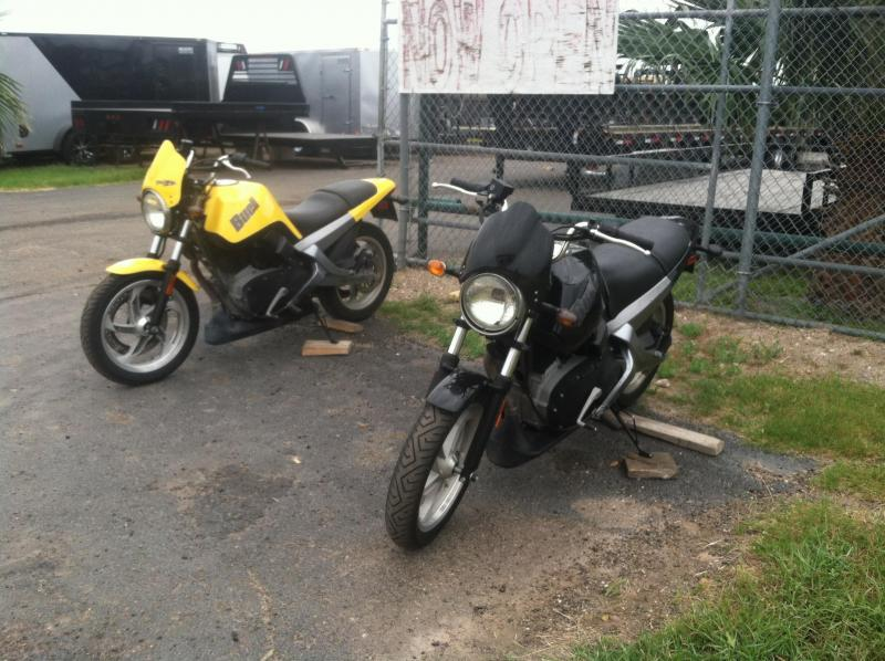 2009 Mr Victors BUELL BLAST HARLEY DAVIDSON Motorcycle Trailer