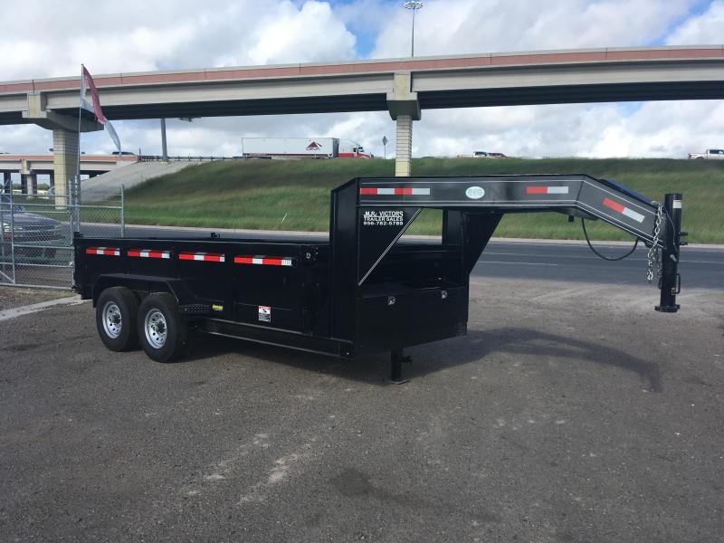 2018 MR VICTORS 83 X 14 GN DUMP TRAILER