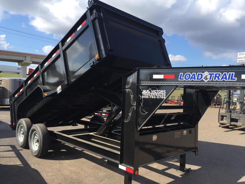 2018 LOAD TRAIL 7X16 GN DUMP TRAILER