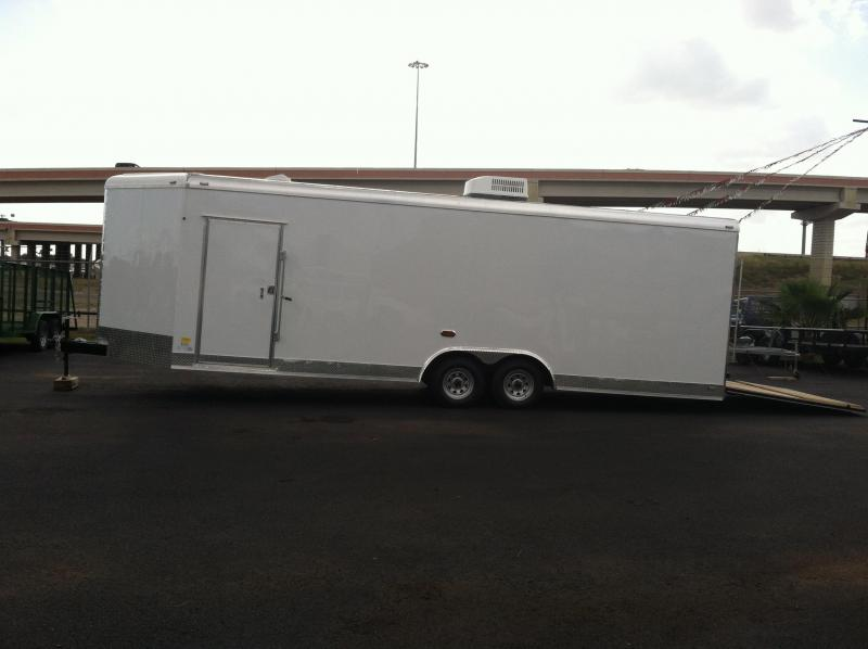 2014 Cargo Mate 8X24 CUSTOM Cargo / Enclosed Trailer