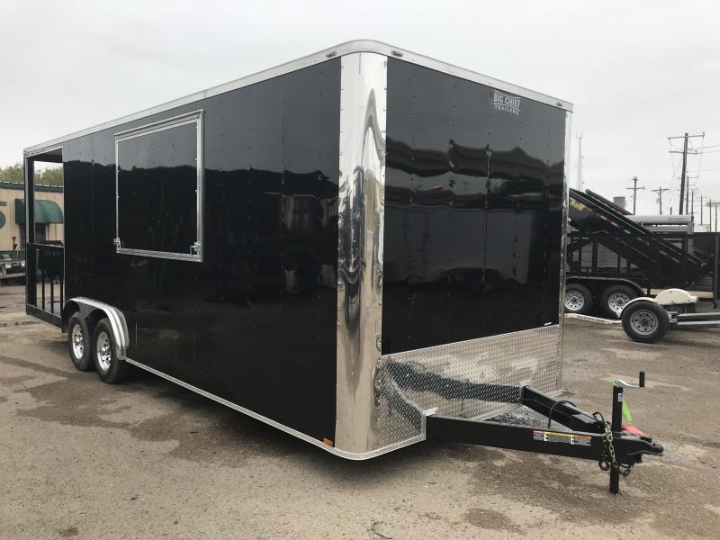 2019 LARK 8.5' X 24' CONCESSION TRAILER