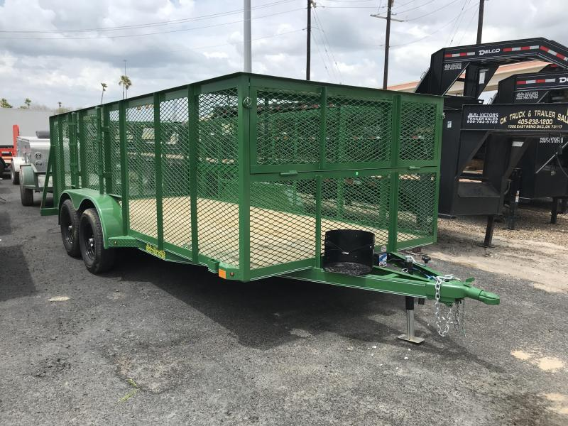 "2019 Mr Victors 83""x16' Landscape Trailer"