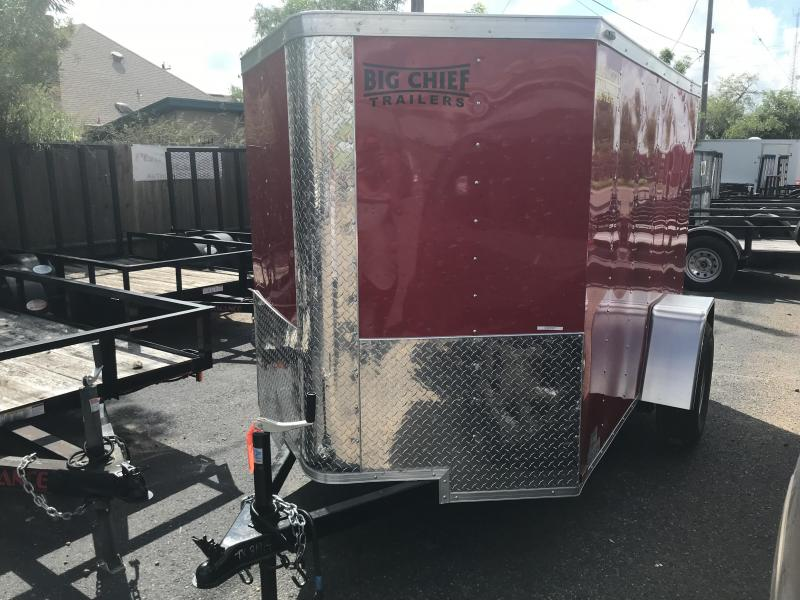 2019 5X8 SA ENCLOSED CARGO TRAILER