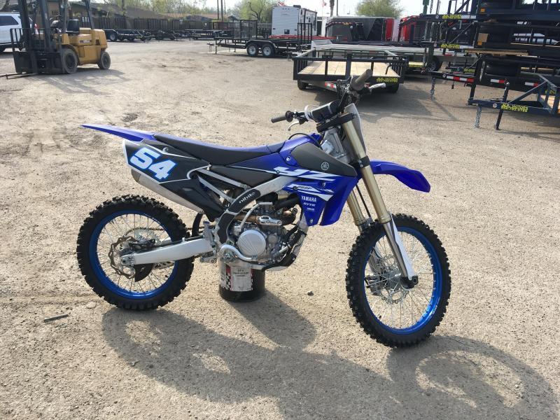2018 YAMAHA YZ250F MOTORCYCLE