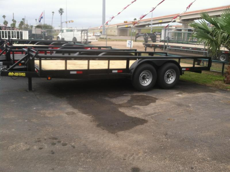 Heavy Duty Tractor Trailer : Mr victors pipe top utility trailer heavy duty