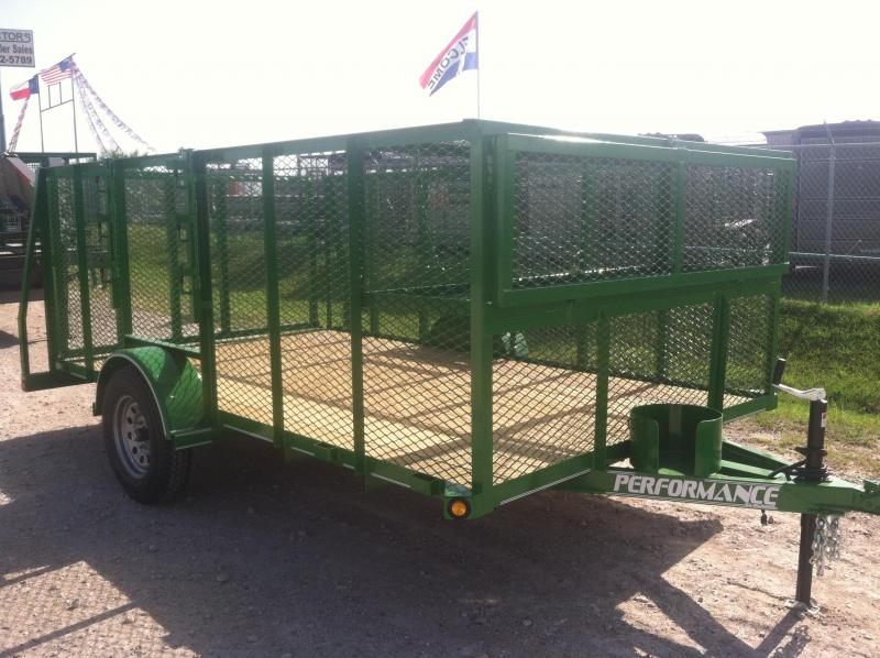 2014 Parker Trailers 83X12 LANDSCAPE Equipment Trailers