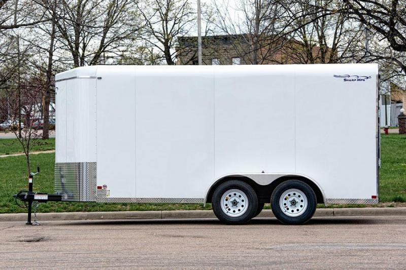 2016 Sharp SHARP 7X16 TA Cargo / Enclosed Trailer