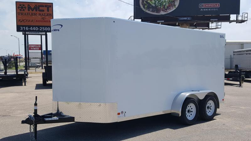 2018 Sharp S.E.L. 68 X 14 Enclosed Cargo Trailer