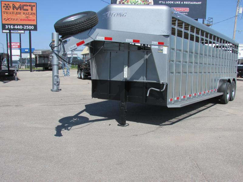 2018 Travalong 24FT GN ADVANTAGE Livestock Trailer