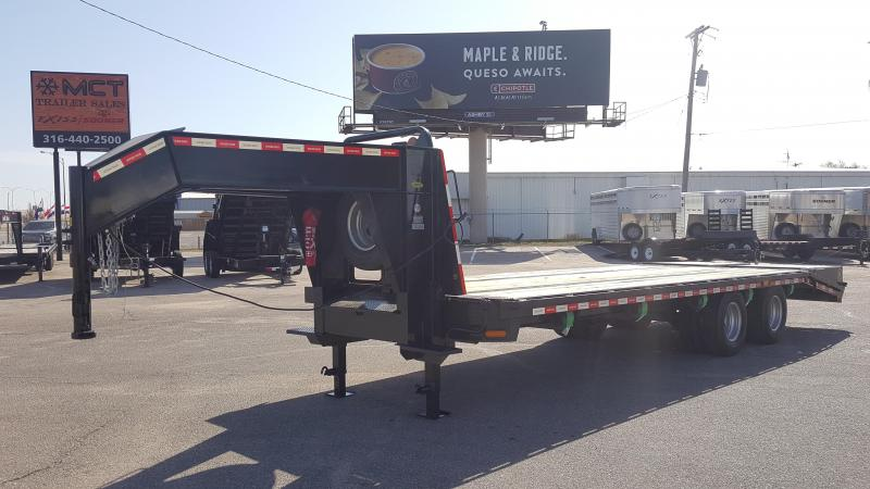 2015 Gatormade Trailers 25FT DECKOVER 25K Equipment Trailer