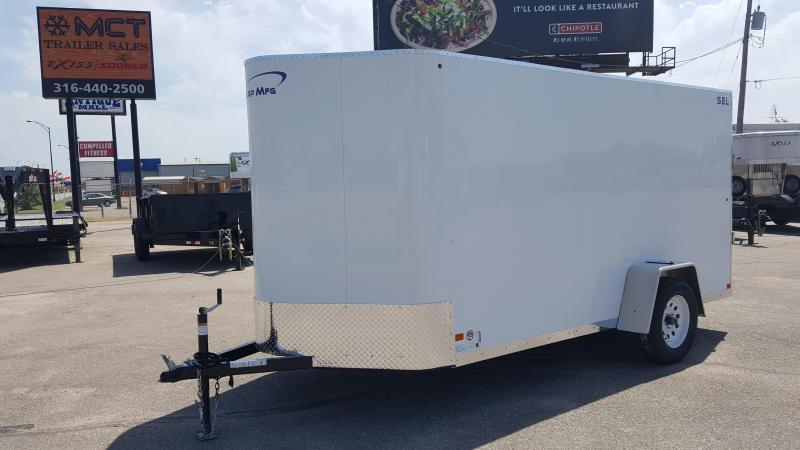 2018 Sharp S.E.L. 6X12 Enclosed Cargo Trailer