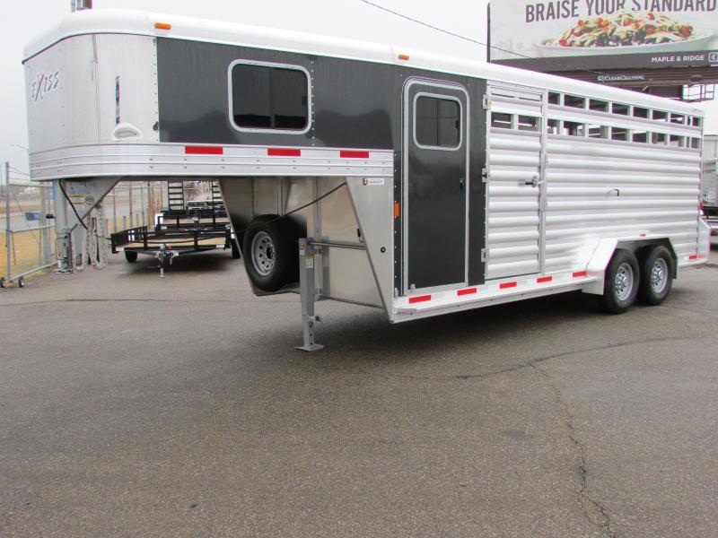 2017 Exiss STC 7020 - 7' Tall Stock Combo Trailer
