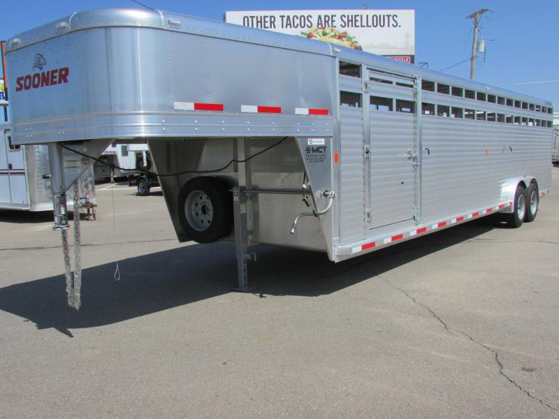 2015 Sooner Trailers SR 7630 Stock Trailer