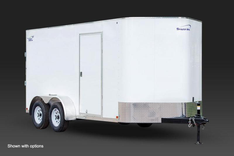 2017 SEL 7X14 Enclosed Cargo Trailer