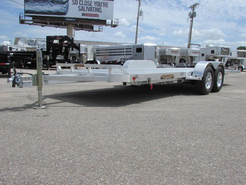 2017 Aluma 8220H TILT Car / Racing Trailer