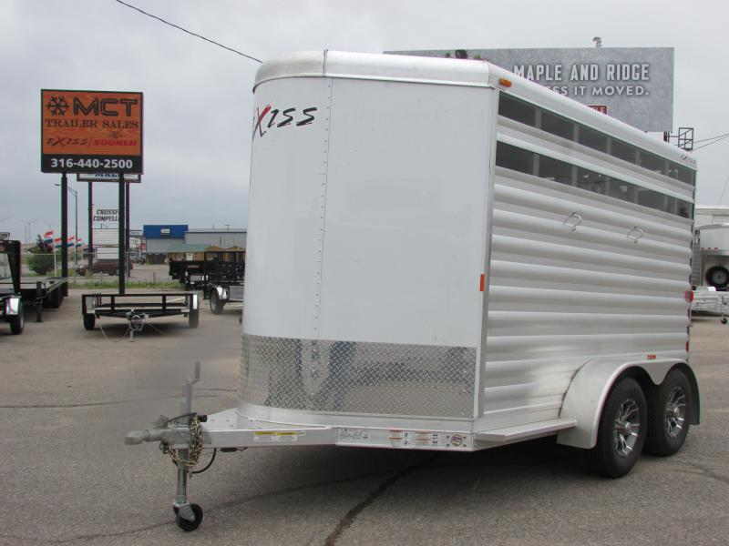 2015 Exiss Trailers EXPRESS 2H CX Horse Trailer