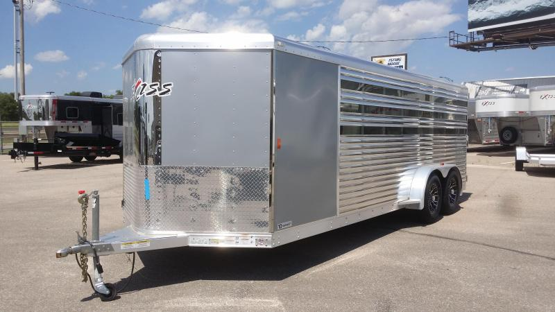 2016 Exiss Trailers STC LP 20 BP Stock / Stock Combo Trailer