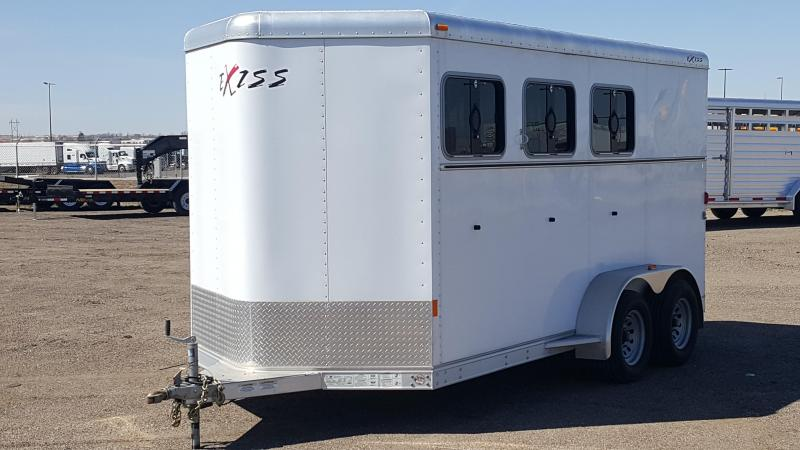 2014 EXISS EXPRESS 3H BP Horse Trailer