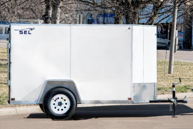 2017 Sharp S.E.L. 5X8 Cargo / Enclosed Trailer