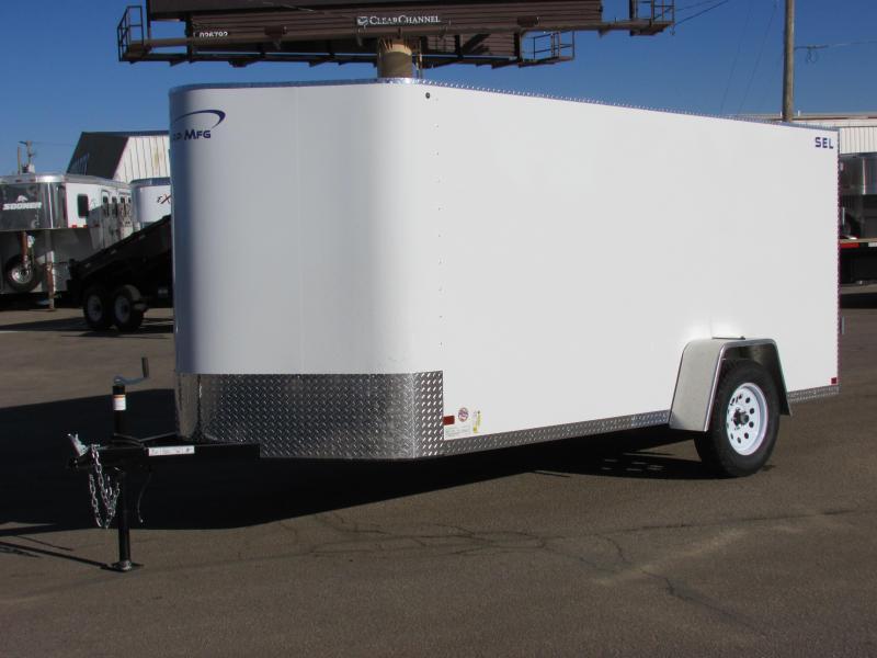 2017 Sharp S.E.L. 6 X 12 Cargo / Enclosed Trailer