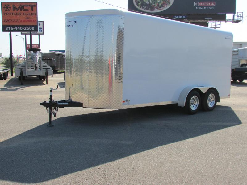 2016 Sharp 7 X 16 Enclosed Cargo Trailer