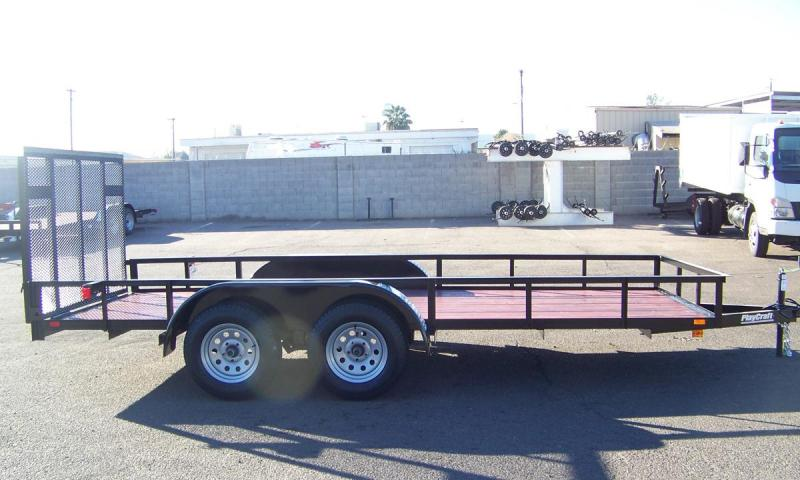 2018 Sun Country 82x14 Pipetop Utility Trailer