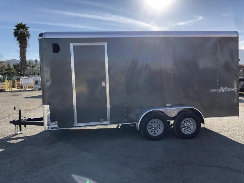 2018 Mirage Trailers XCEL 7 X 16 Side x Side Pkg Enclosed Cargo Trailer