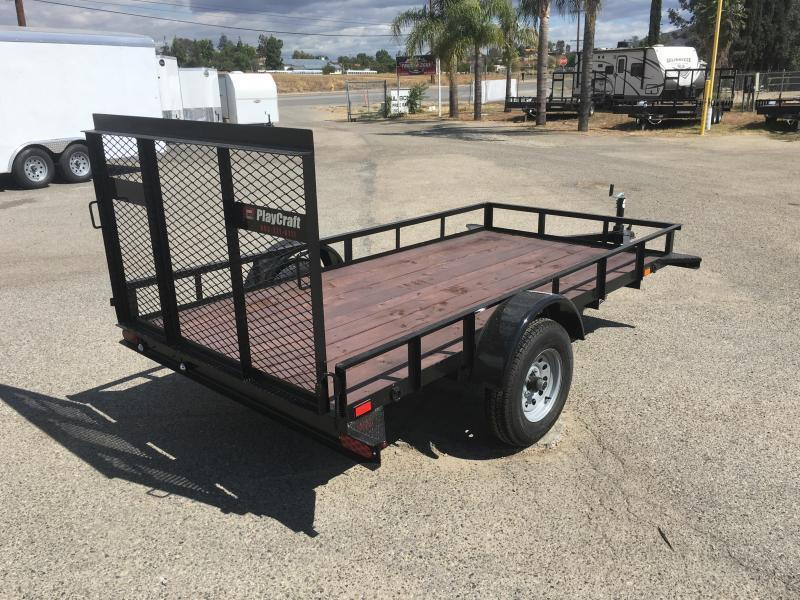 2017 Playcraft 5X10 Big Mini Utility Trailer