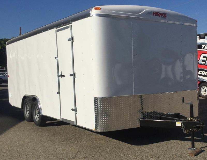 2018 Mirage Trailers 8.5x16 Expo Enclosed Cargo Trailer