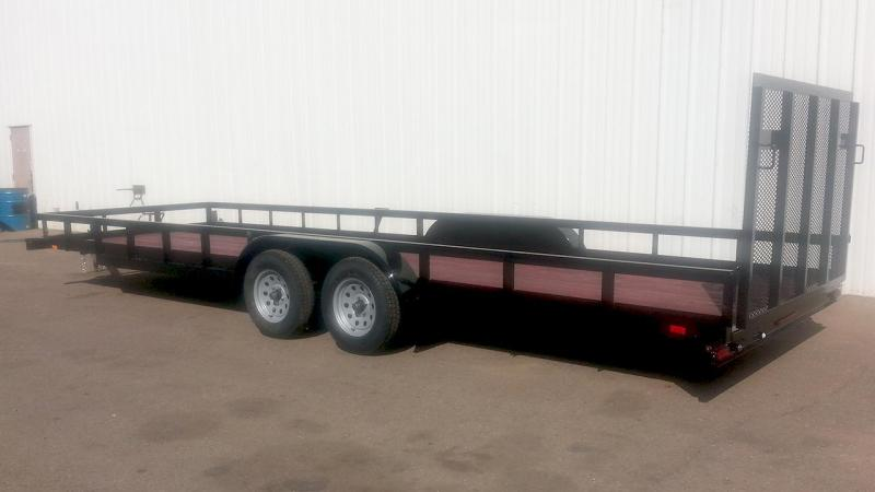 2017 Playcraft 82x18 Utility Trailer