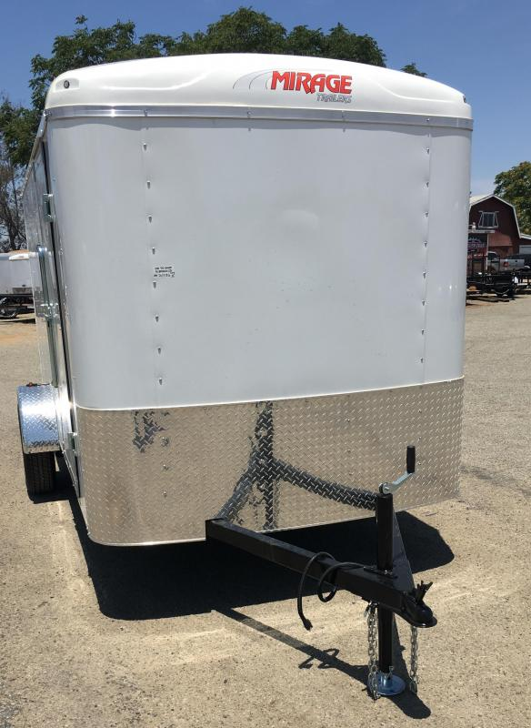2018 Mirage Trailers 6X12 XCEL Enclosed Cargo Trailer