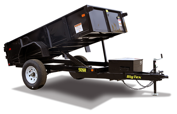 2017 Big Tex Trailers 50SR 5X10 Dump Trailer