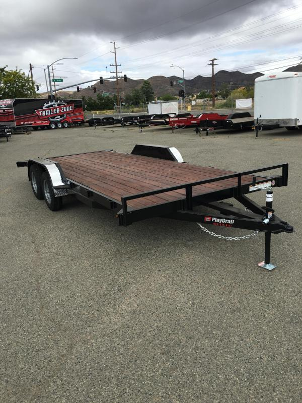 2019 Playcraft Champ 82x18 Utility Trailer