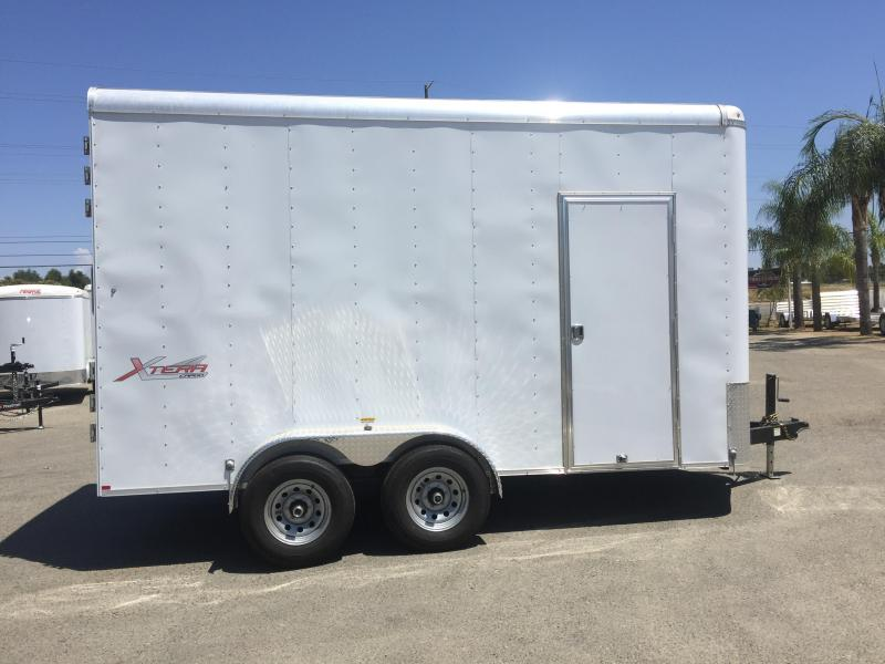 2017 Mirage Trailers 7X16 XTERA-V Enclosed Cargo Trailer