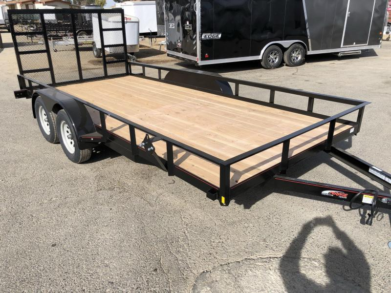 2018 Mirage Trailers  7x16 Utility Trailer Utility Trailer