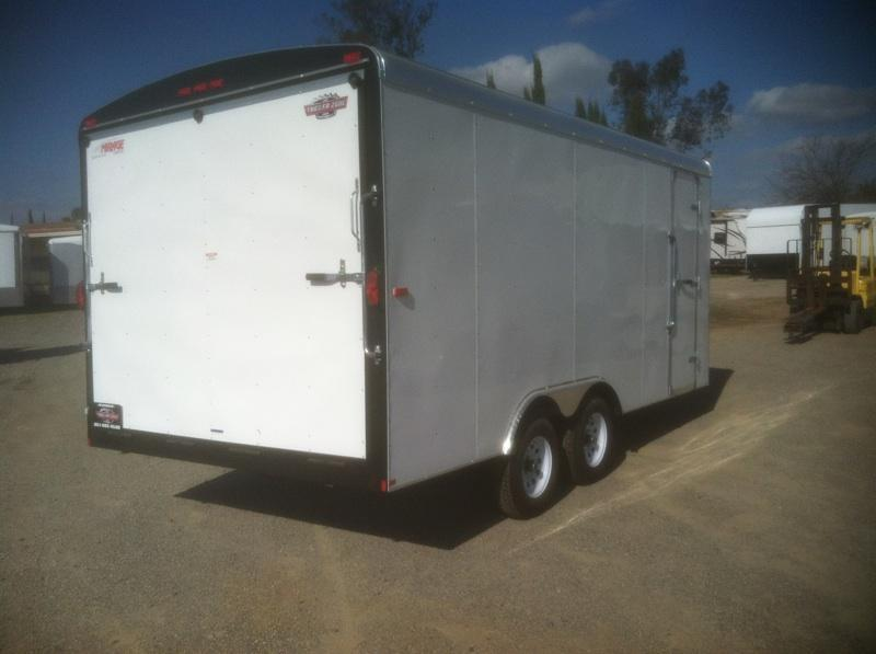 2018 Mirage Trailers 8.5x16 Excel Enclosed Cargo Trailer